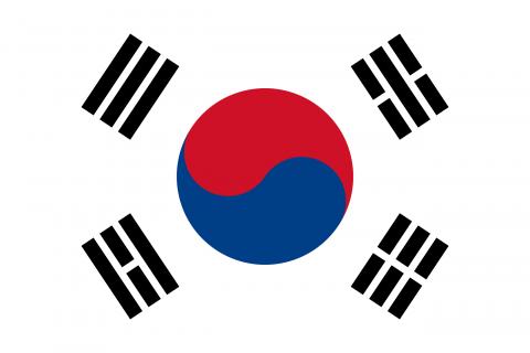 corea del sud bandiera