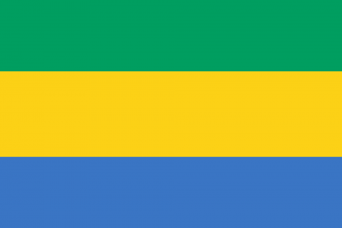 Gabon bandiera