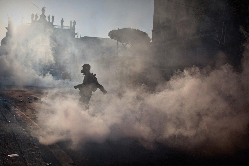 Alessandro Penso - Roma scontri 15 ottobre 2011