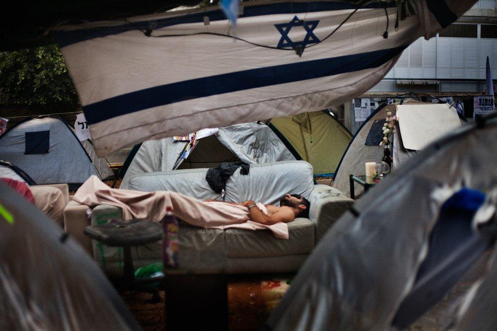 Cristina Mastrandrea Occupy Tel Aviv