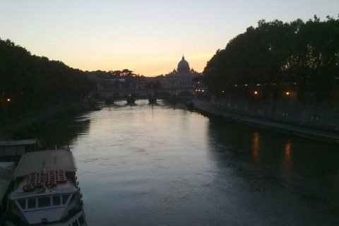 Roma Tevere San Pietro