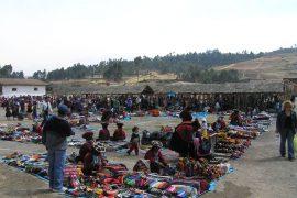 Perù indios mercato