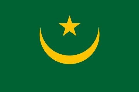 Mauritania bandiera