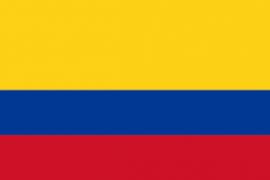colombia bandiera