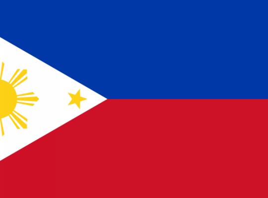 Filippine bandiera