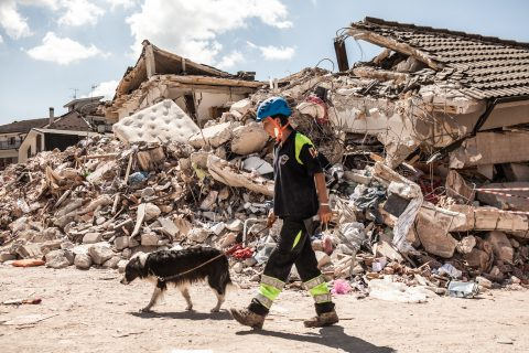 Amatrice terremoto 2016 Cristina Mastrandrea