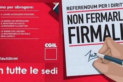 referendum CGIL