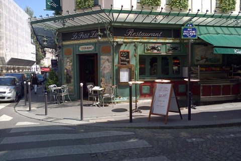Francia Parigi rue Apollinaire