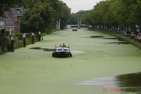 Un canale in Olanda