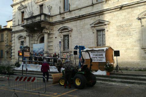 seggiovia tre caciare carnevale Ascoli Piceno