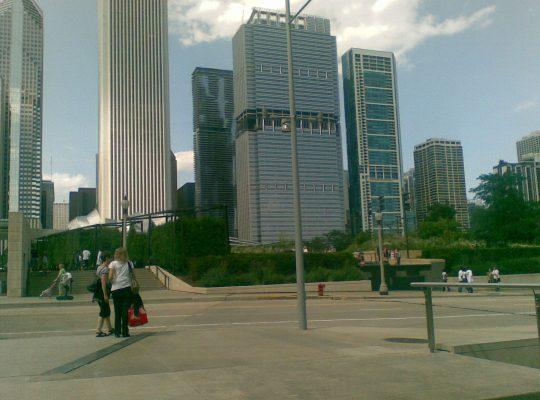 USA Chicago grattacieli millenium park foto esposito 2009