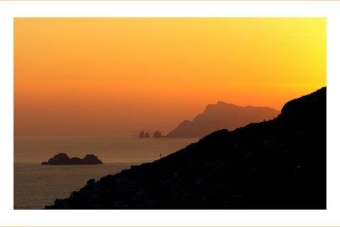 Faraglioni a Capri Amalfi