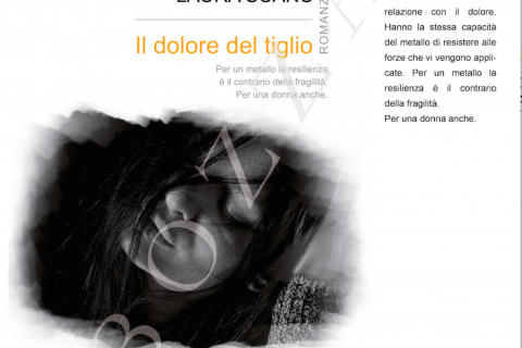 copertina del libro Il dolore del tiglio di Laura Scanu