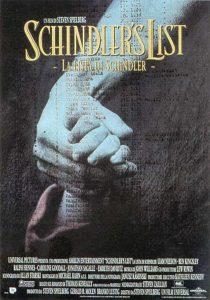 la locandina del film Schindler's list