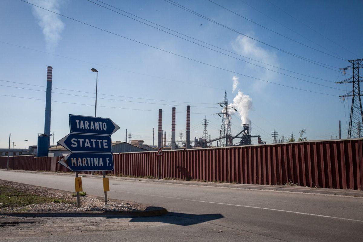 Taranto ILVA ciminiere