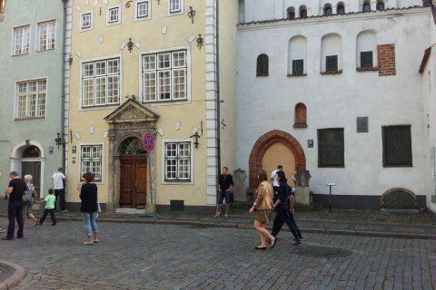 Lettonia Riga tre fratelli