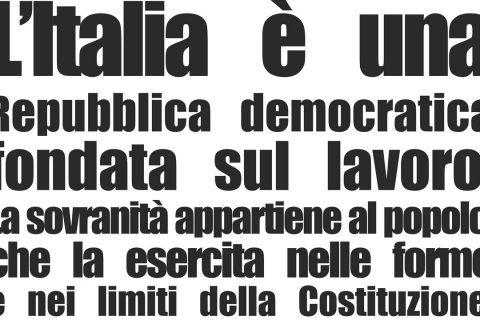 costituzione repubblica italia