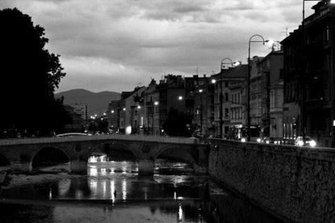 SARAJEVO ponte sul fiume Mijicka