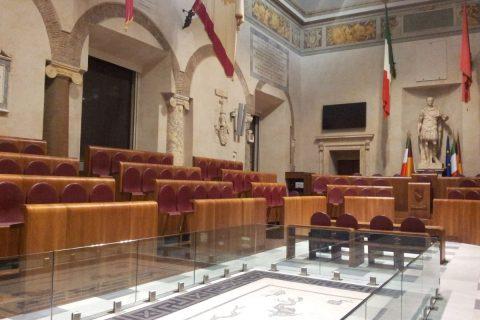 Roma Sala consiliare Giulio Cesare