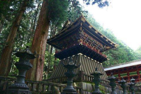 Giappone tempio a Nikko