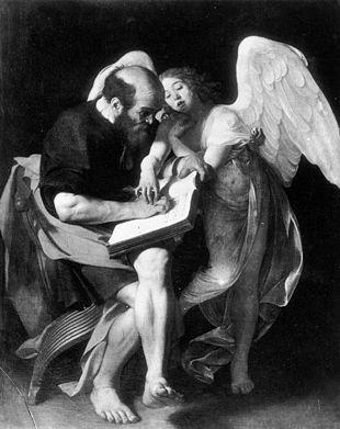 San Matteo e langelo prima versione