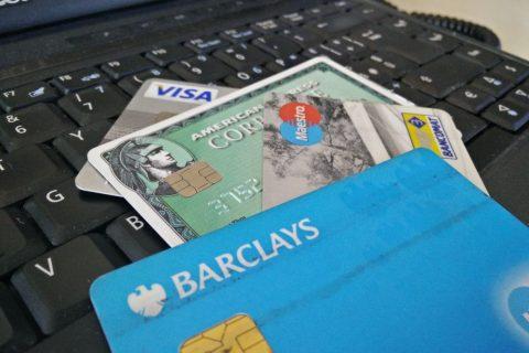 Internet computer carte di credito