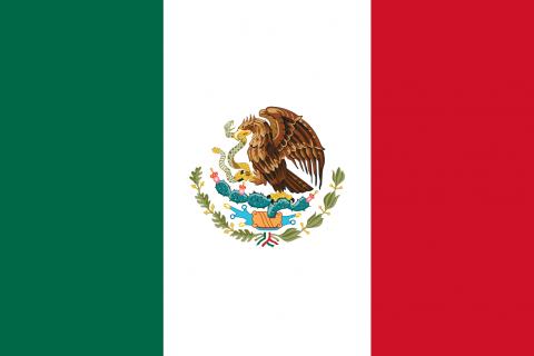 Messico bandiera