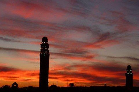 Tunisia Tetti di Tozeur