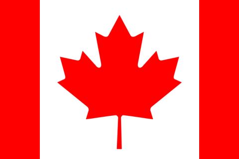 Canada bandiera