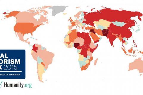 mappa del terrorismo 2015