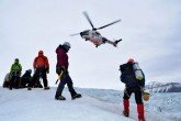 Polo Svalbard elicottero in aiuto Stefano Pozzi