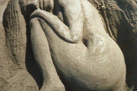 arte scultura Una donna Anzio Barbaccia