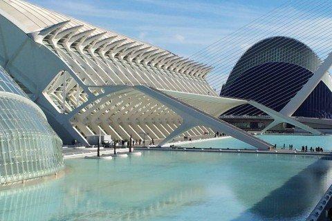 Spagna Valencia città della scienza