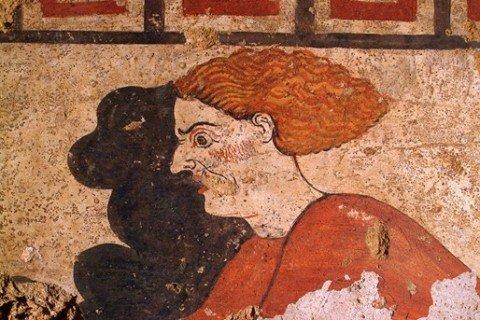tomba etrusca della Quadriga Infernale
