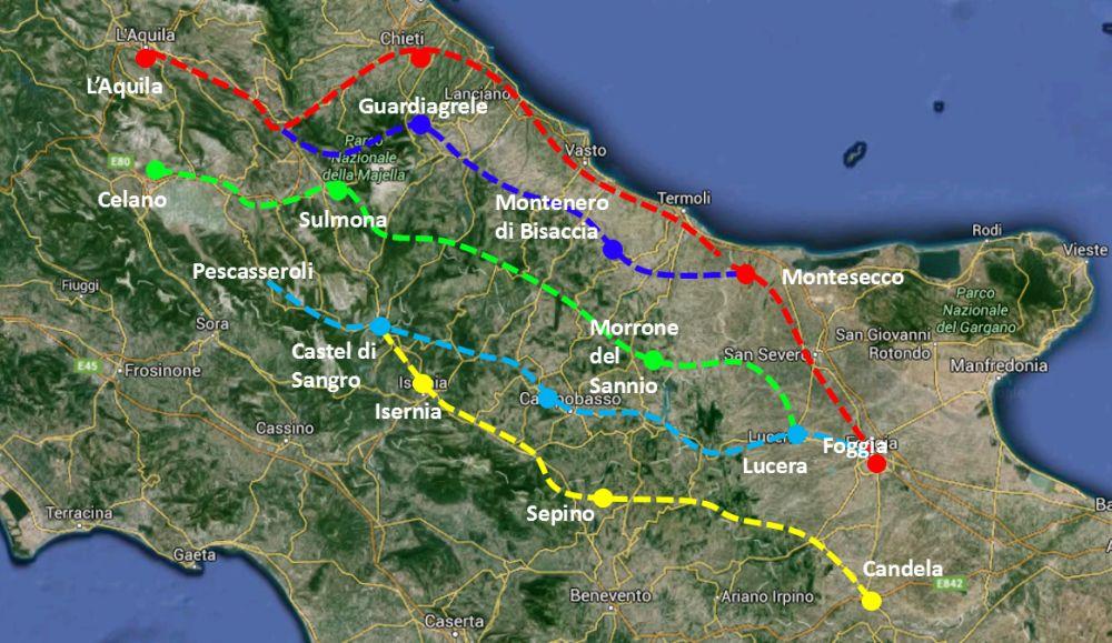 Abruzzo transumanza tratturi