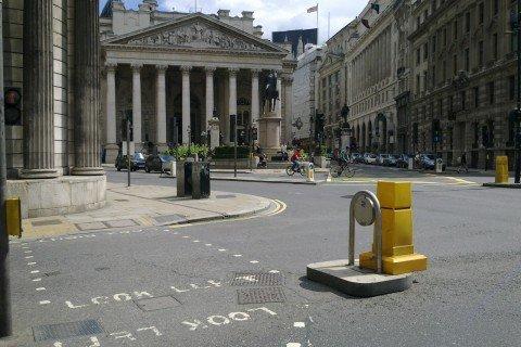 Regno Unito Gran Bretagna Londra royal exchange