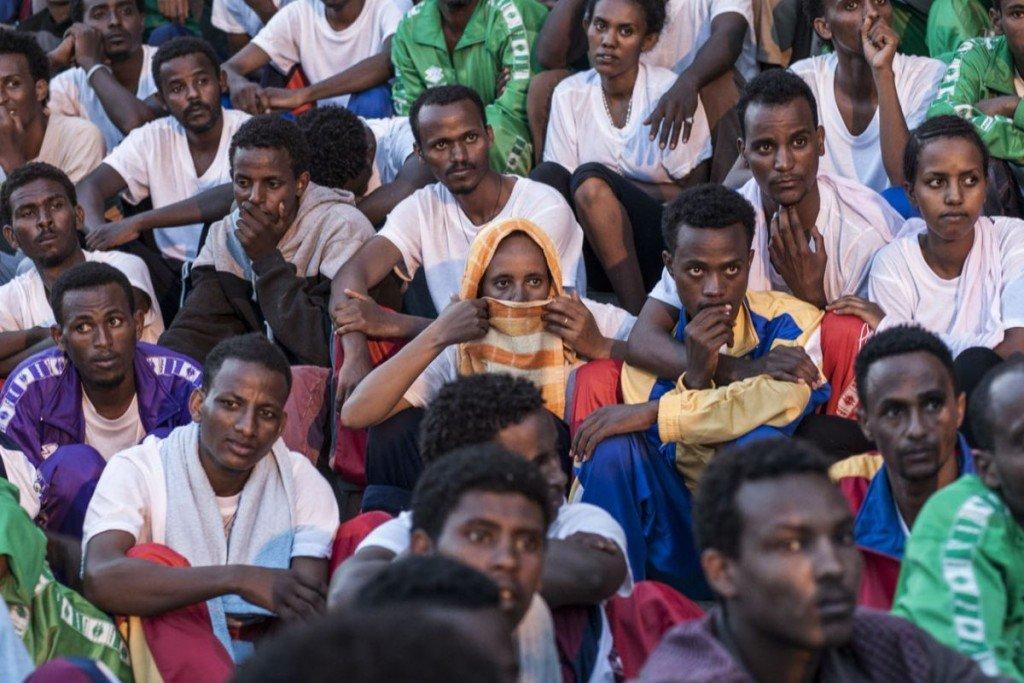 donna eritrea Lampedusa