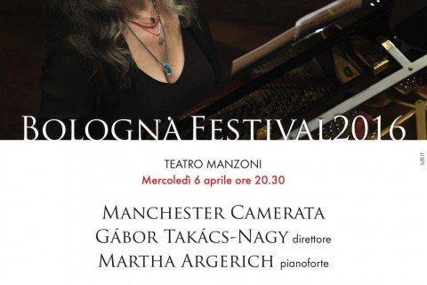 Martha Argerich Manchester Camerata Bologna Festival 2016