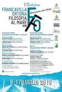 Festival filosofia al mare 2016