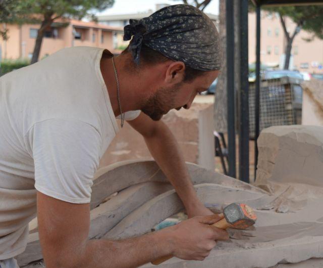 Francesco Paglialunga scultura Nettare della terra