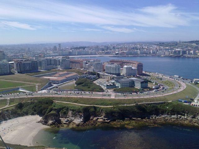 Galizia. La Coruña, panorama 2010. Foto Pasquale Esposito