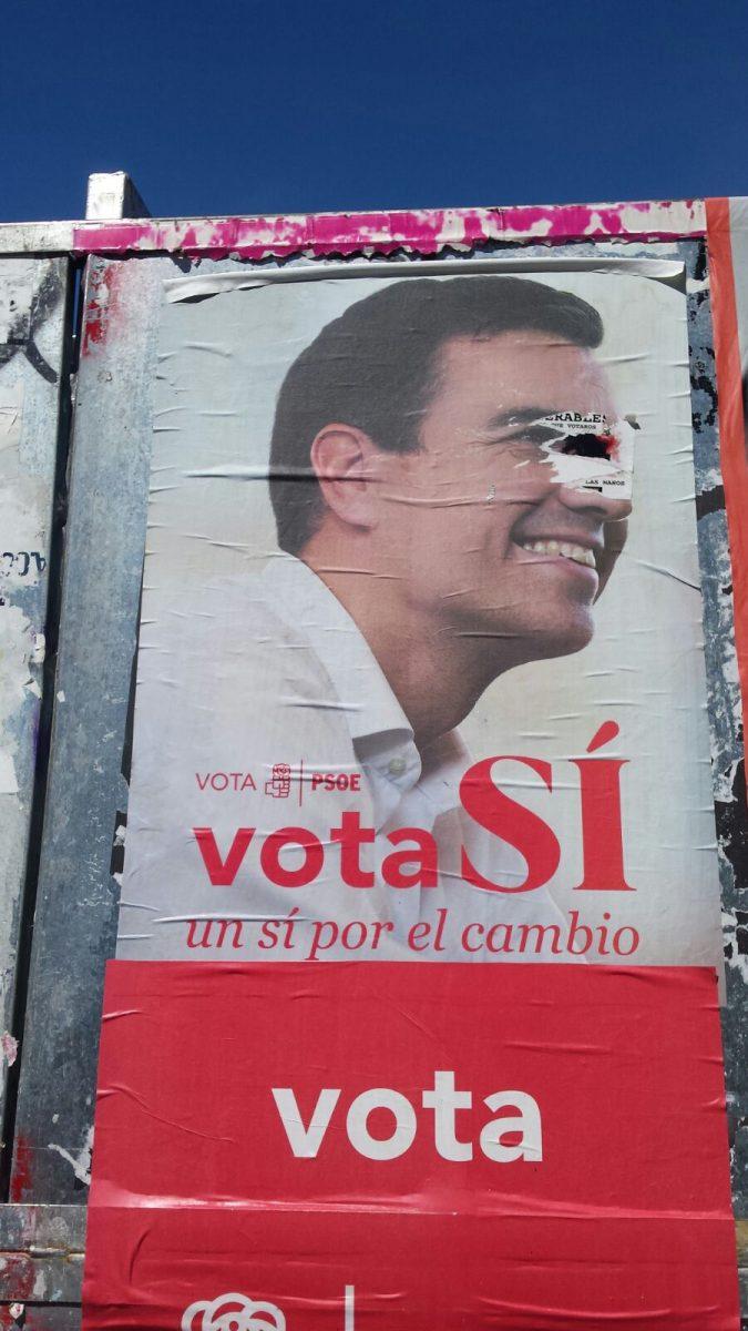 Spagna manifesto elettorale Psoe