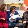 Tre papà e un bebè teatro