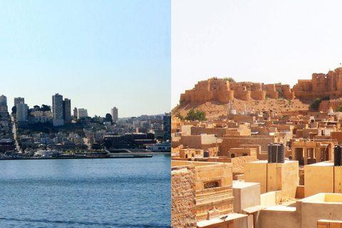 San Francisco vs Jaisalmer riflesso NY vs Aurangabad Achille Sberna e Fabrizio Teodori