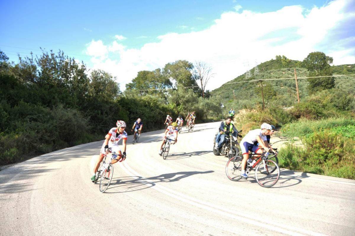 ciclismo corsa in Grecia