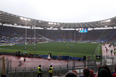 Olimpico Sei Nazioni di rugby Italia Galles