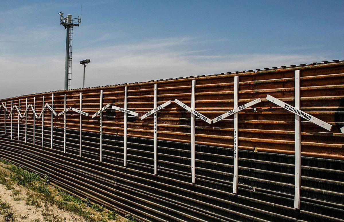 Il muro tra gli Usa e il Messico