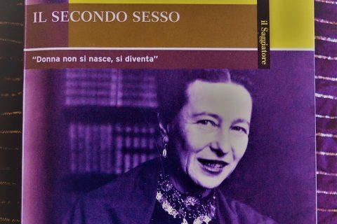 copertina libro il secondo sesso di Simone de Beauvoir