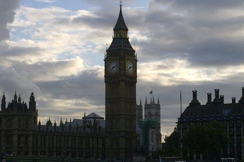 Londra il Palazzo di Westminster