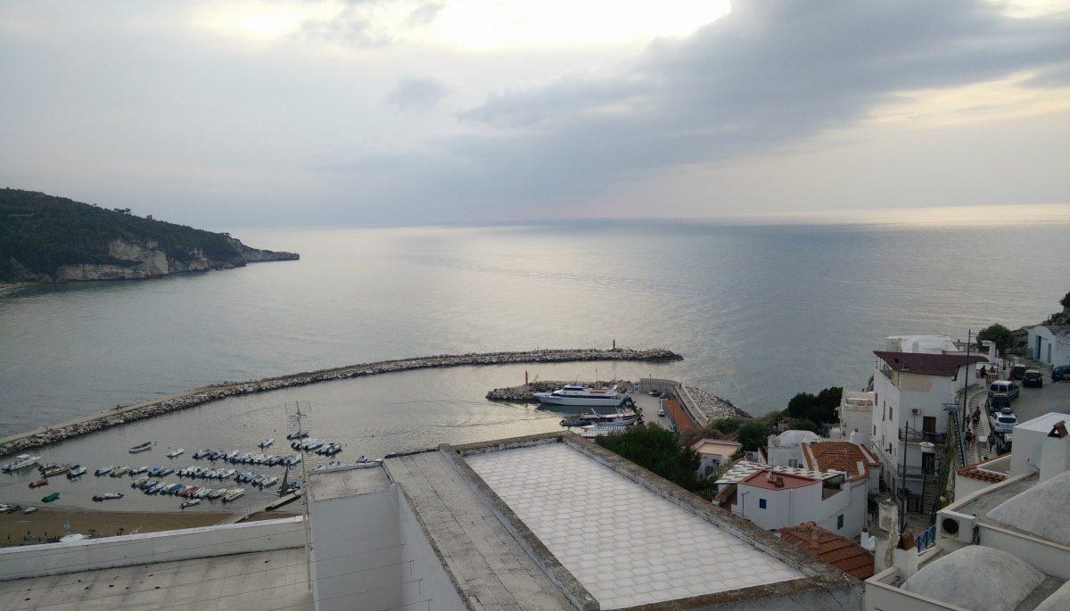 il porto di Peschici